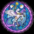 Princess Celestia stained glass