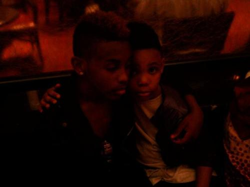 Prodigy (Mindless Behavior) wallpaper called Prod with his brother