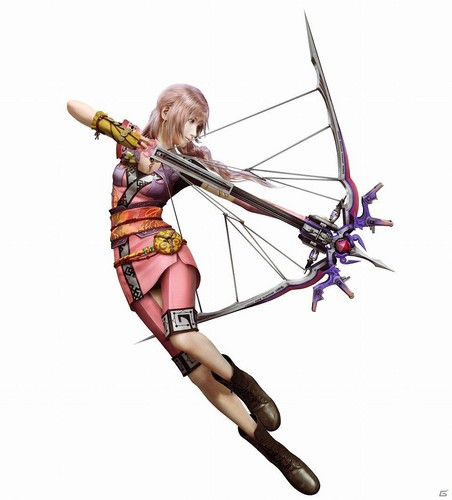 Final Fantasy XIII-2 wallpaper titled Serah