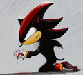 "Shadow ""Broken"" dg colored_ Preview! - bird-g fan art"