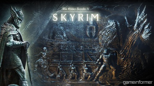 Elder Scrolls V : Skyrim wallpaper containing a sign titled Skyrim Wallpapers