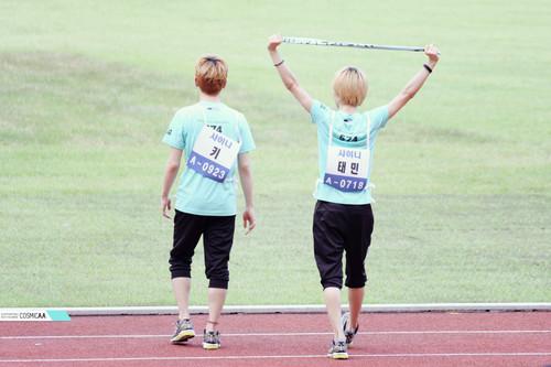 Taemin and Key