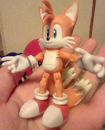 "Miles ""Tails"" Prower wallpaper entitled Tails Figurine!"