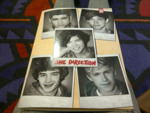 "The 1D ""Up All Night"" Tour Programme!"