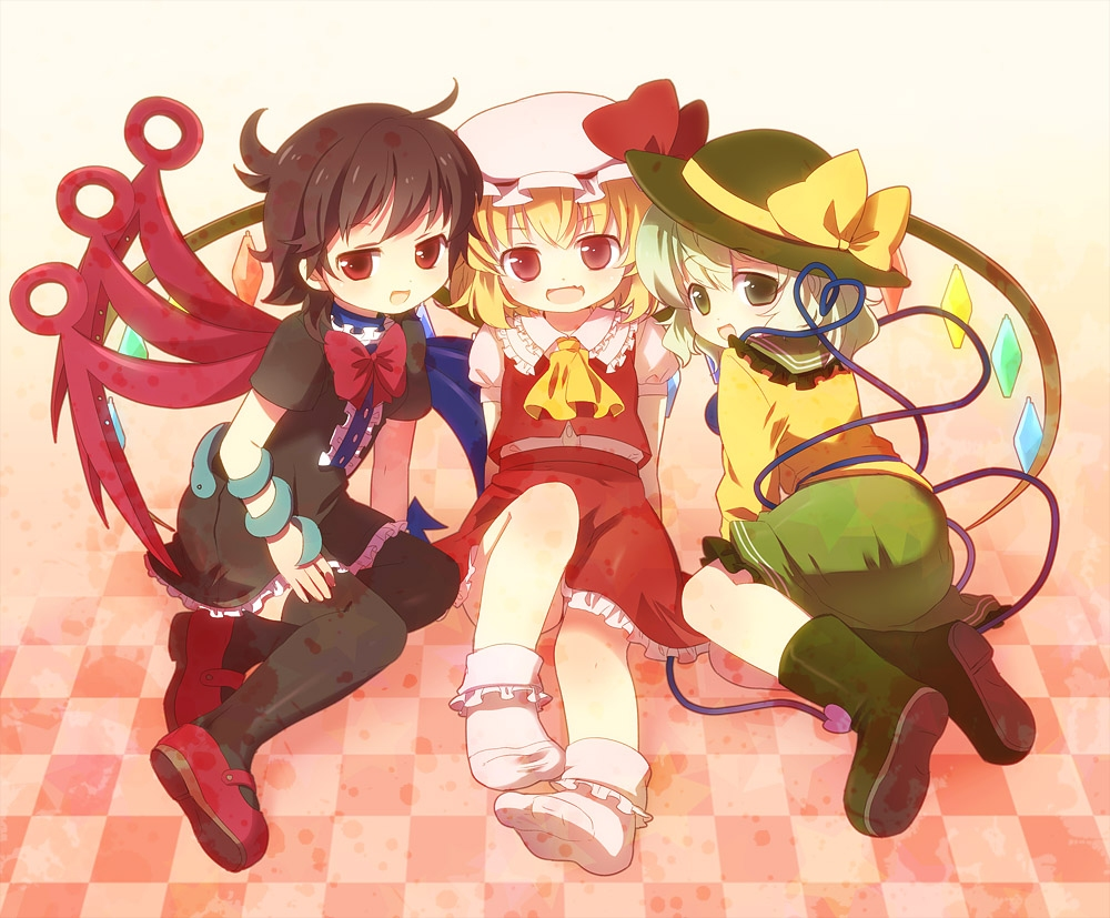 flandre scarlet images the 3 best friends <3 hd wallpaper and