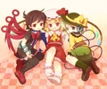 The 3 Best Friends <3 - flandre-scarlet fan art