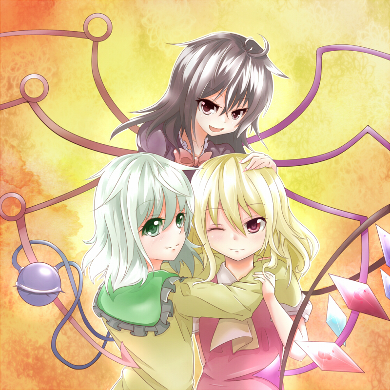 Touhou Images The 3 Best Friends HD Wallpaper And Background Photos