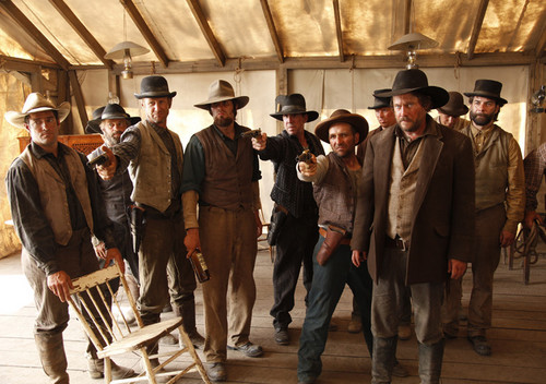 Toole (Duncan Ollerenshaw) and the Irishmen in Episode 7
