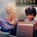 Uhura and Chapel