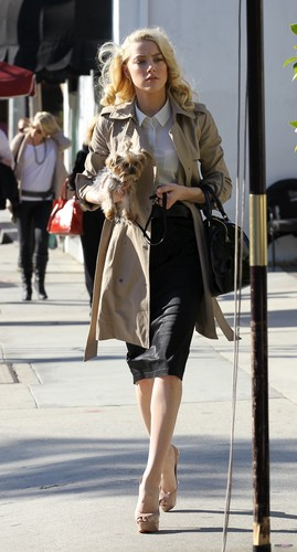 WALKING IN BEVERLY HILLS (DECEMBER 16TH)