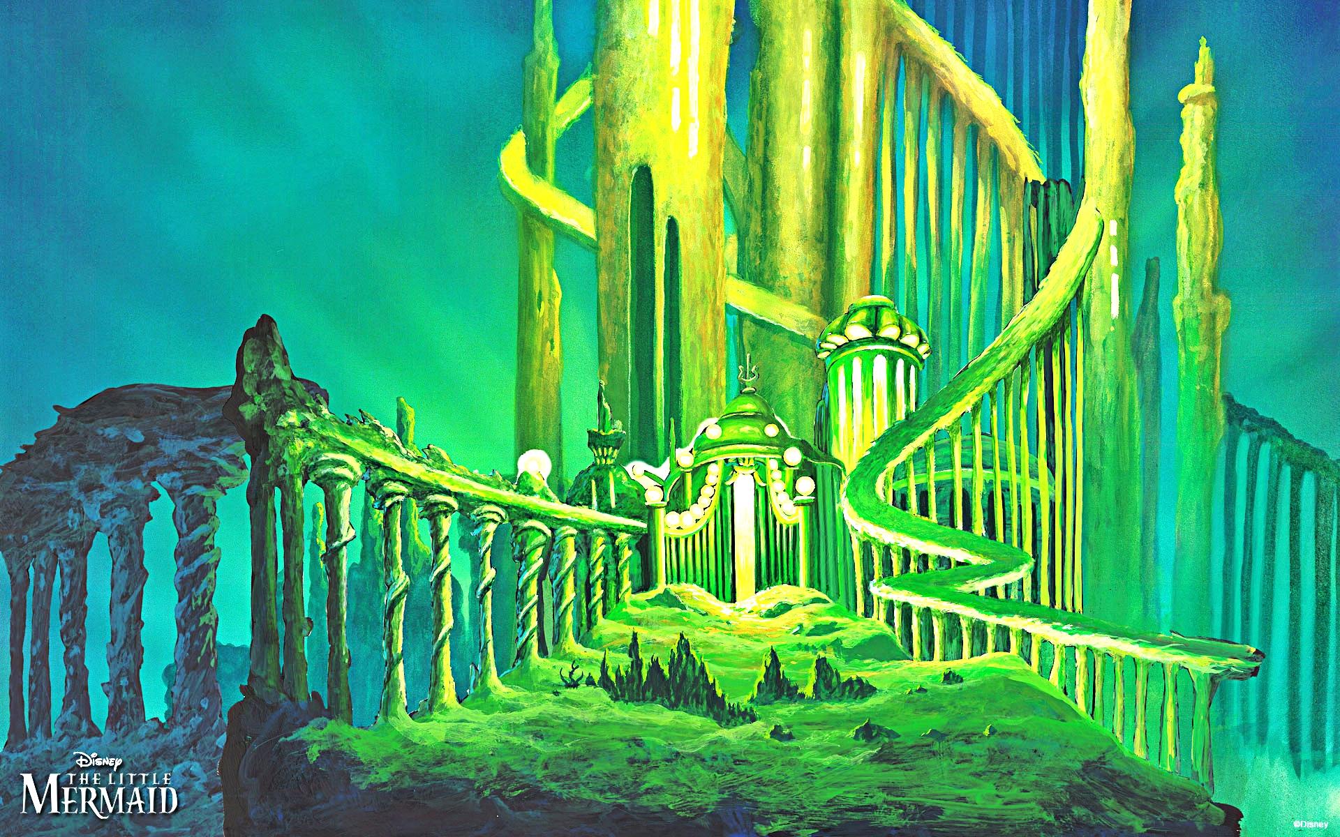 Walt Disney Hintergründe - The Little Mermaid
