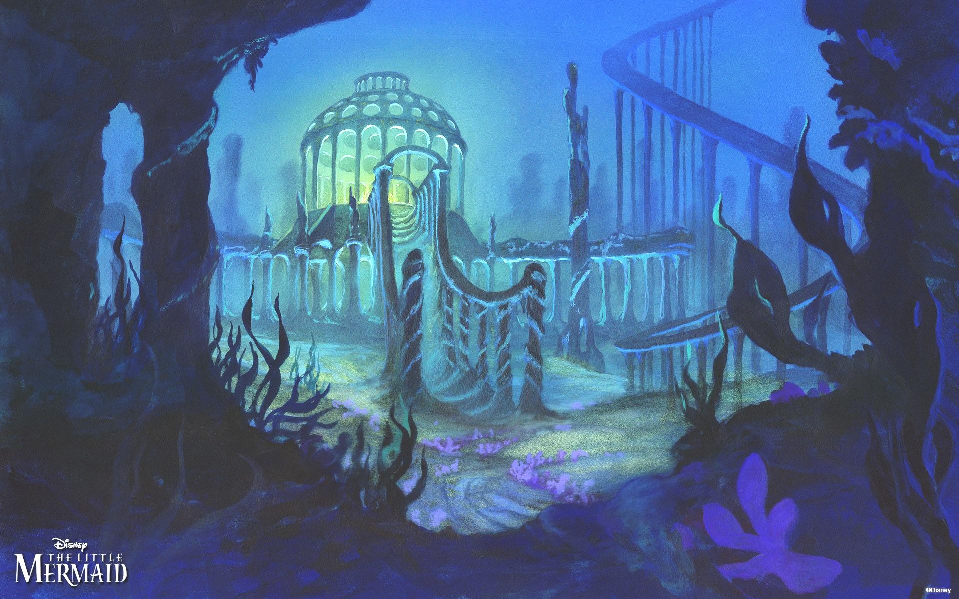 Walt Disney các hình nền - The Little Mermaid
