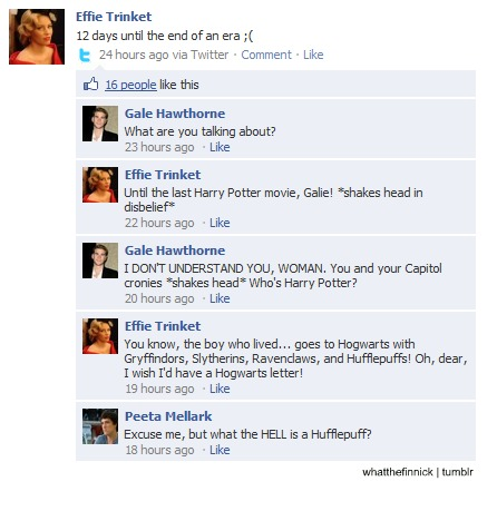 What the Hell is a Hufflepuff? Hunger Games Style