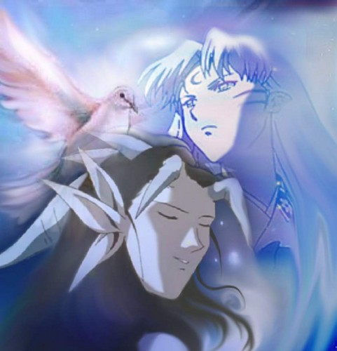 Yomi and Sesshomaru at Peace