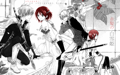 Zen and Shirayuki - Color Splash