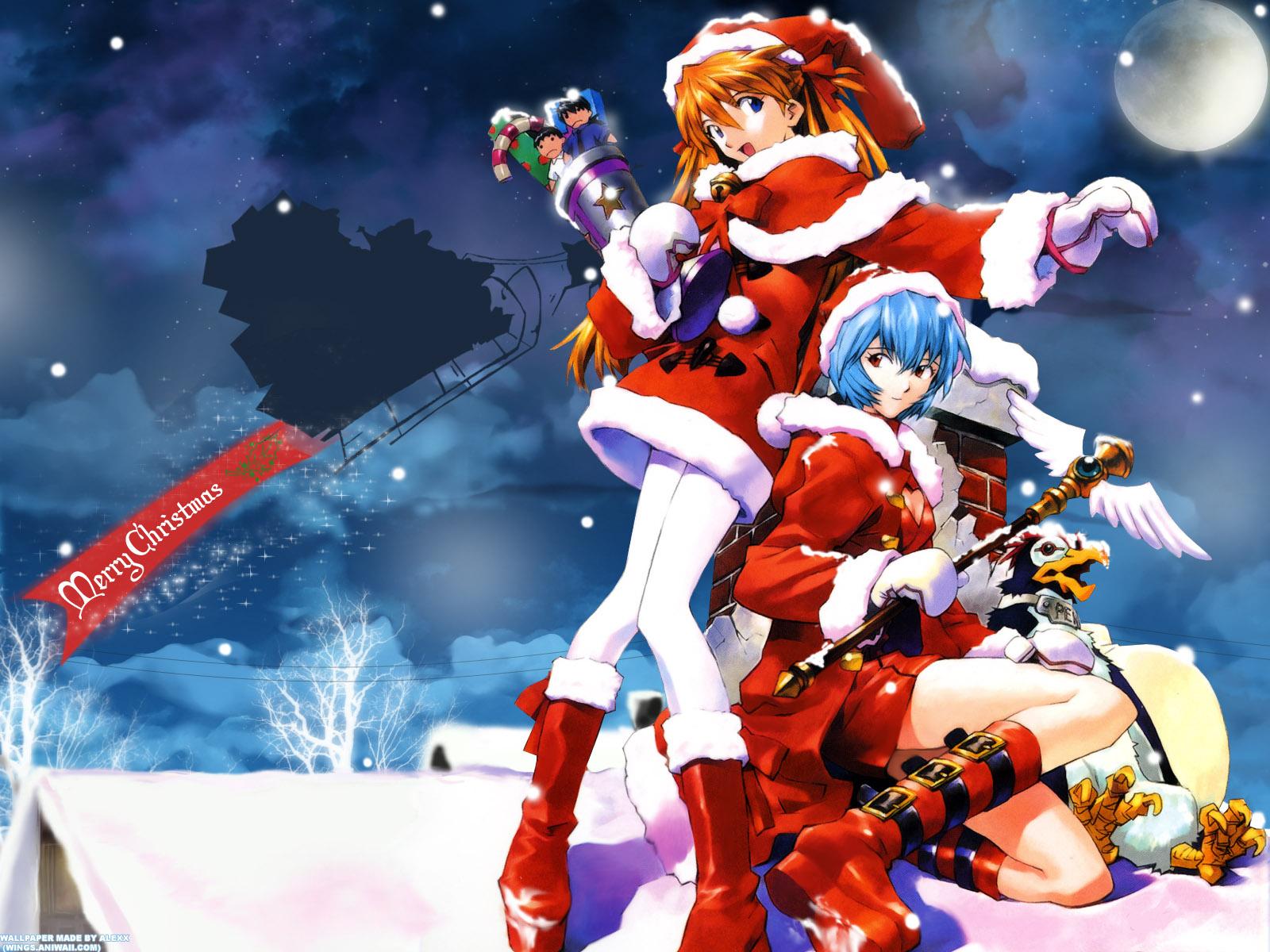 Kunoichi Island Images Anime Christmas Hd Wallpaper And Background