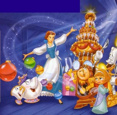 Beauty And The Beast Christmas.Beauty And The Beast The Enchanted Chrismas Beauty And The