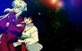 inuyasha & kagome - inuyasha-and-ranma-1-2 wallpaper
