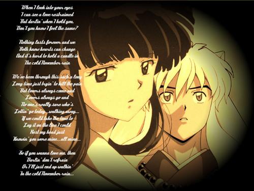 Inuyasha & kikyo