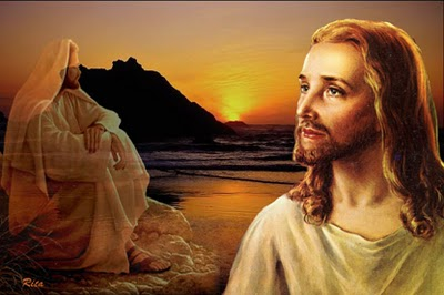 Jesus wallpaper possibly with a bathrobe, a sunset, and a nightwear called jesus christ