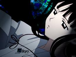 kikyo laying down