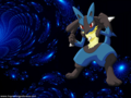 lucario - pokemon wallpaper