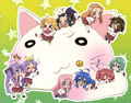 lucky star chibis - miyuchan7 photo