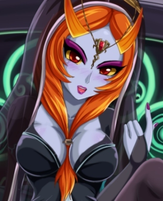 midna   nintendo girls fan art