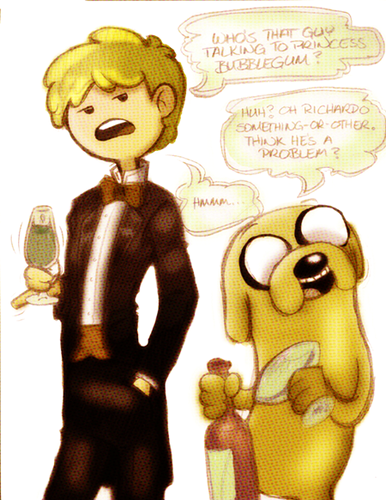 party - adventure-time-with-finn-and-jake Fan Art
