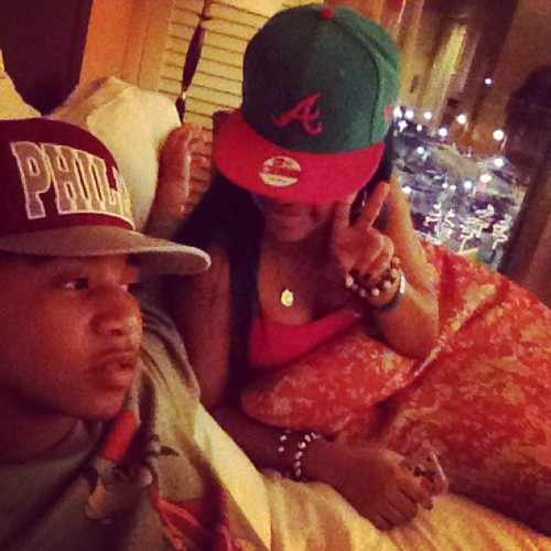 Star and Roc Royal in Bed