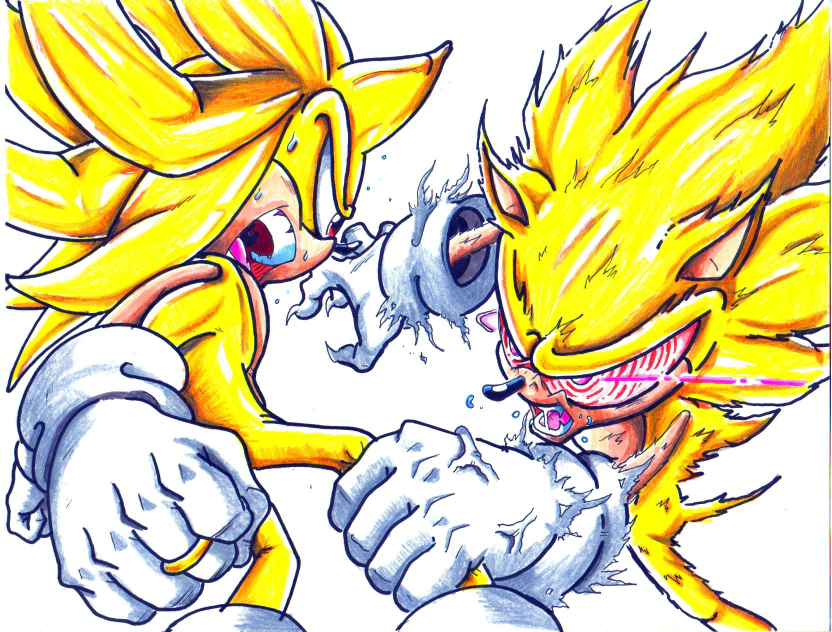 Related Pictures Super Sonic Vs Superman Prime Battles Comic Vine ...