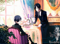 tea in the morning - sebastian-x-ciel-phantomhive photo