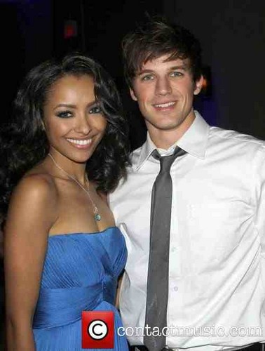 Kat Graham and Matt Lanter