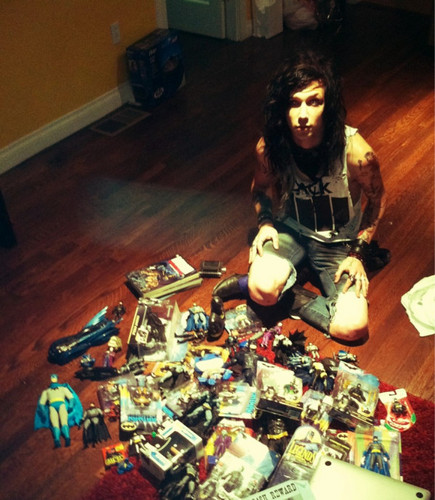 *^*^*Andy with his toys!*^*^*