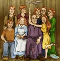 The Weasley Family, Take Two  - weasleys fan art