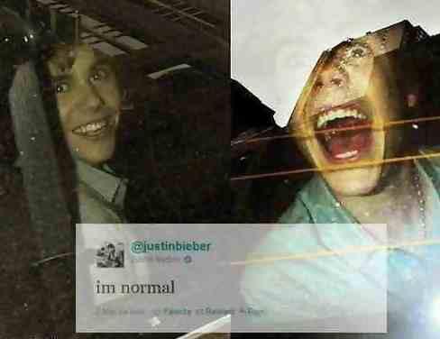 """im normal"""