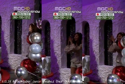111224 SNSD - musik Core X-Mas special