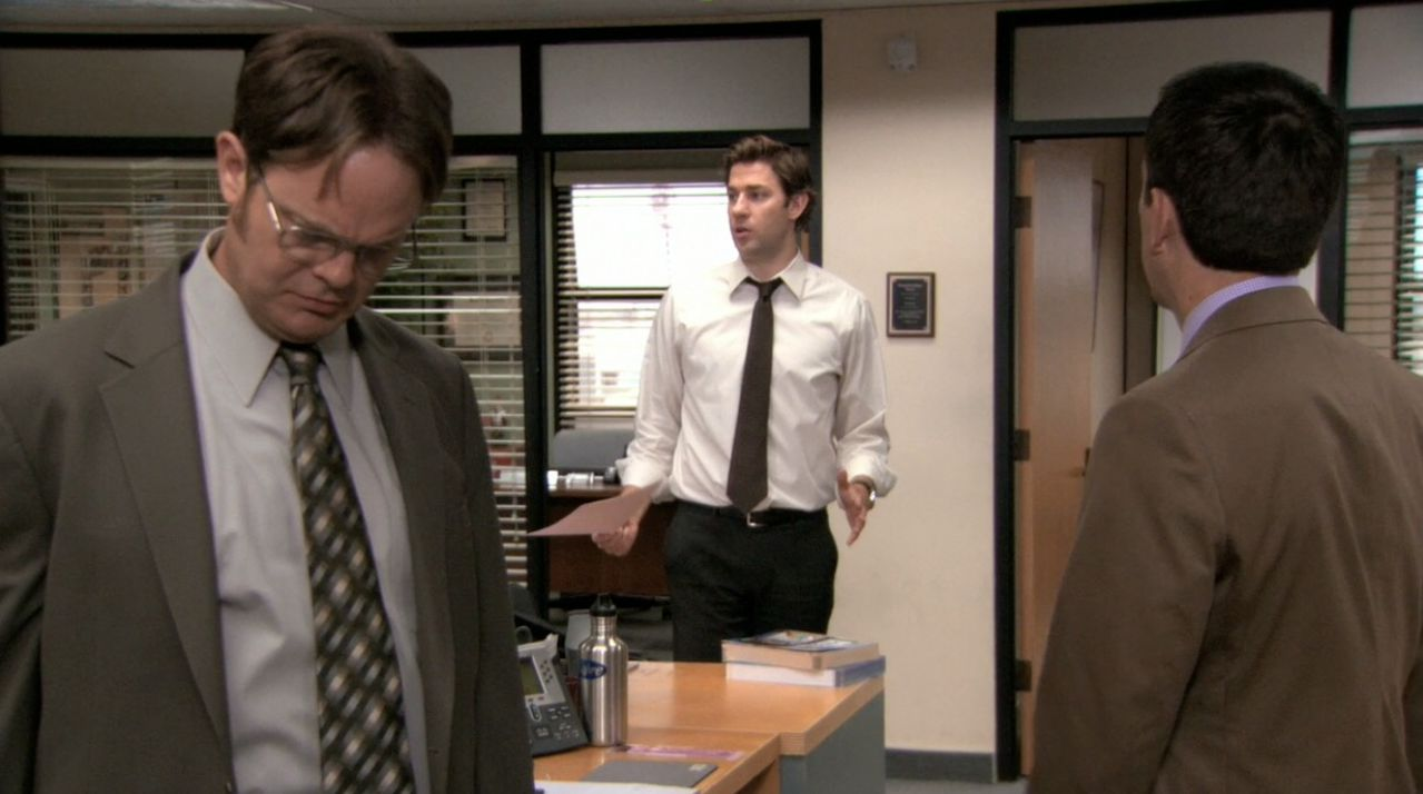 The office season 5 episode 14 lecture circuit part 1 / The killing