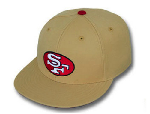 A oro 49ers hat