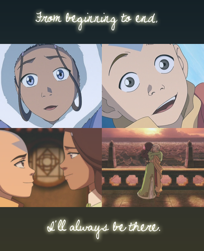 Zutara vs. Kataang achtergrond containing anime called Aang & Katara