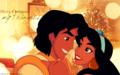 disney-princess - Aladdin & Jasmine~ ♥ wallpaper