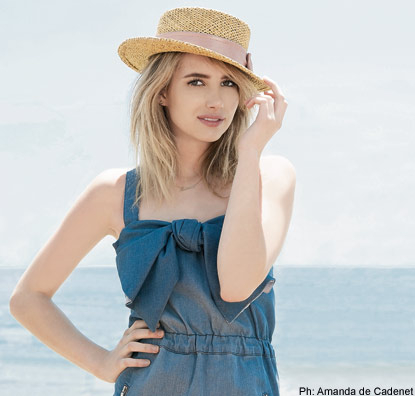 Emma Roberts wallpaper with a boater titled Amanda De Cadenet Photoshoot