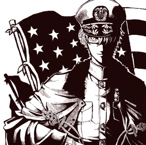 America Black and White