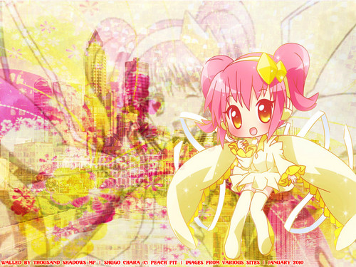 Shugo Chara wallpaper containing a bouquet called Amulet Diamond