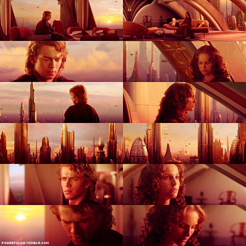 Anakin and Padme پیپر وال called Anakin&Padme Skywalker