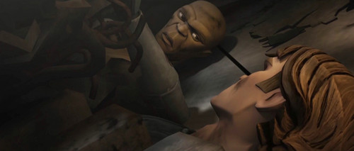 Anakin and Mace, during the Clone Wars.