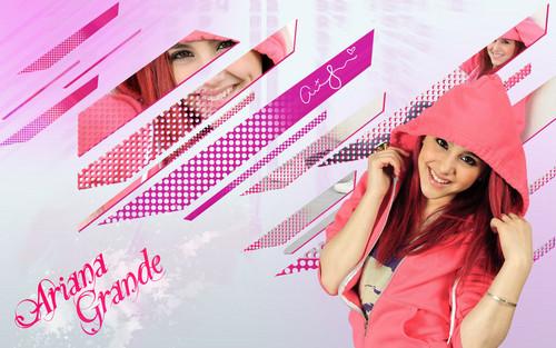 Ariana Grande wallpaper :)