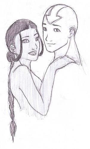 avatar Aang & Katara