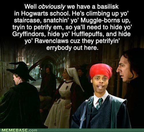 Be afraid of the Basilisk ....