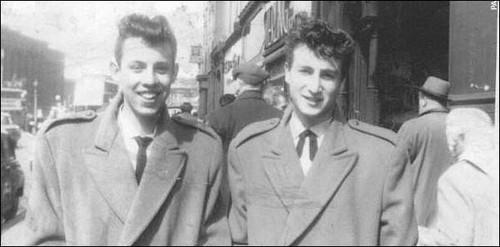 The Quarrymen 1957 - NigelWally JohnLennon